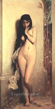 nude naked body Painting - La Cigale female body nude Jules Joseph Lefebvre